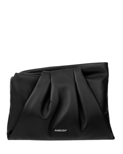 AMBUSH Maxi Wrap Clutch Black