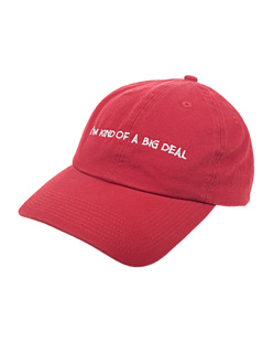 NASASEASONS Cap Big Deal Red