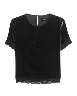 JADICTED Velvet And Lace Black