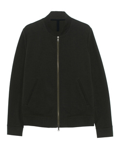 HARRIS WHARF LONDON Cotton Bomber Military Green