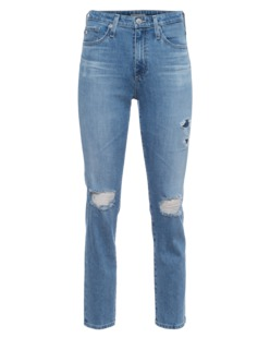 ALEXA CHUNG FOR AG JEANS The Sabine 18 Years Patched With Love