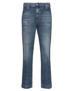 AG Jeans The Layla Flare Crop 7 Years Blue