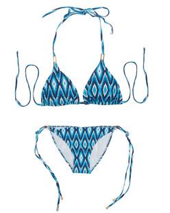 Melissa Odabash Cancun Ikat Blue