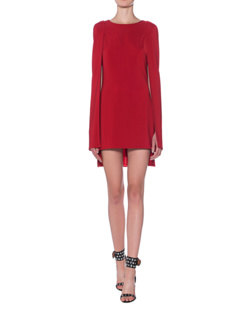 Lever Couture Cap Sleeves Red