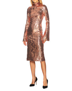 GALVAN LONDON Orb Sequin Rose Gold