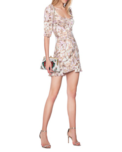 FOR LOVE AND LEMONS Renata Lace Up Multicolor