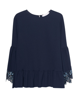 SEE BY CHLOÉ Flared Sleeve Navy