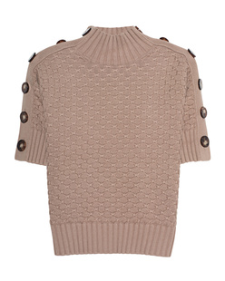 SEE BY CHLOÉ Knit Buttons Beige