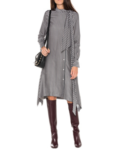 SEE BY CHLOÉ Asymmetric Striped Multicolor
