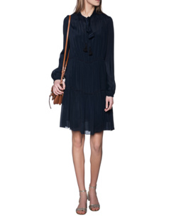 SEE BY CHLOÉ Volant Bow Ultramarine