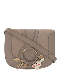 SEE BY CHLOÉ Charms Medium Motty Taupe