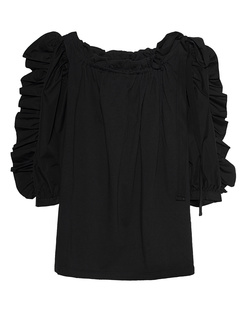 SEE BY CHLOÉ Ruffle Bow Black
