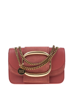 SEE BY CHLOÉ Small Hopper Cross Body Rusty Pink
