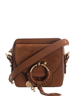 SEE BY CHLOÉ Joan Camera Mini Bag Brown