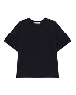 SEE BY CHLOÉ Ruffles Shirt Black