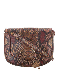 SEE BY CHLOÉ Hana Mini Snake Multicolor