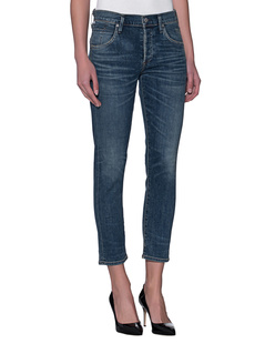 CITIZENS OF HUMANITY Elsa Mid Rise Slim Fit Crop