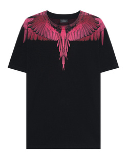 Marcelo Burlon Fucsia Wings Black