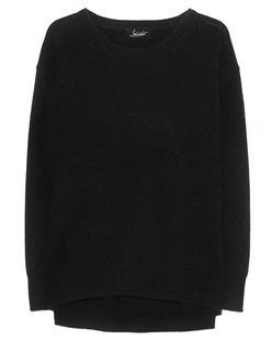 JADICTED Crew Neck Cashmere Black