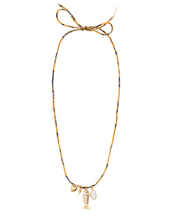 Isabel Marant Étoile Collier Silk Yellow