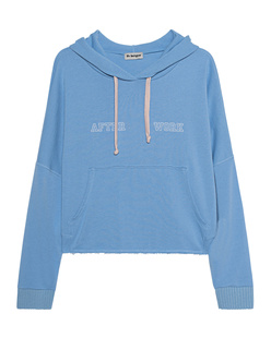 liv bergen Hoodie After Work Lightblue