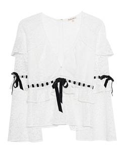 FOR LOVE AND LEMONS Bonita Lace White