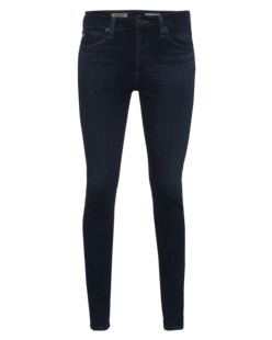 AG Jeans The Farrrah Skinny High Rise Dark Blue