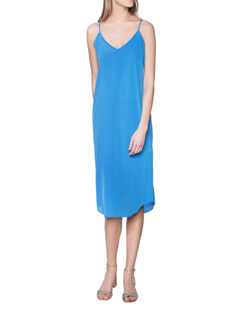 JADICTED Slim Silk Royal Blue