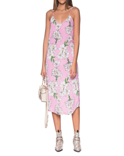 JADICTED Mauveprint Dress Rose