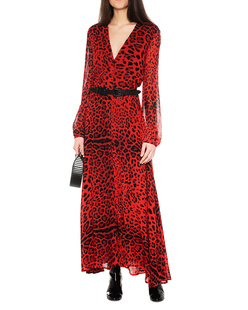 JADICTED Leo Dress Red