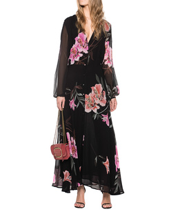 JADICTED Blacklilly Long Dress Black