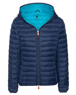SAVE THE DUCK Light Quilted Hood Navy