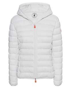 SAVE THE DUCK Padded Hood White