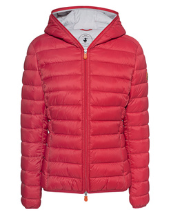 SAVE THE DUCK Padded Hood Red