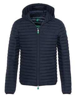 SAVE THE DUCK Quilted Hood Navy