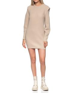Dondup Knit Shoulder Beige