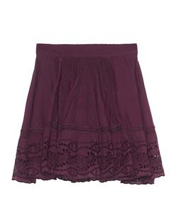 BA&SH Jupe Daisy Prune Purple