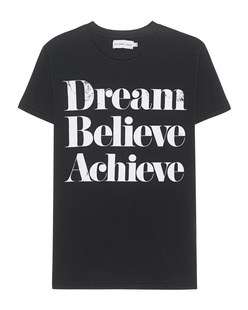 SINCERELY JULES Dream Believe Achieve Black