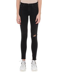 AG Jeans Legging Ankle Destroyed Black