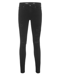 AG Jeans The Legging Ankle Destroy Darkest Night