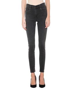 AG Jeans The Farrah Skinny Ankle Grey
