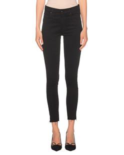 AG Jeans Farrah Skinny Ankle Black