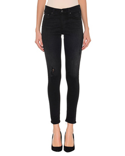 AG Jeans The Farrah Skinny Ankle Black