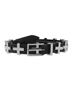 DYLAN KAIN The Dylan Statement Belt Silver