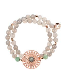 HOFFNUNGSTRÄGER Bracelet Mandala Rose