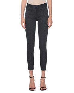 Dondup Pinstripe Pants Black