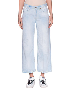 Dondup Avenue Wide Leg Light Blue