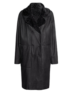 DROME Lambskin Oversize Black