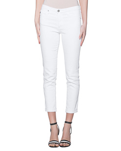 AG Jeans Prima Roll-Up White