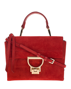 Coccinelle Arlettis Mini Suede Red